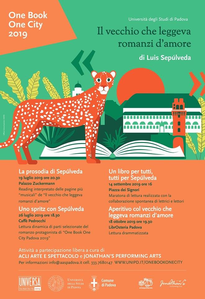 Un libro per tutti, tutti per Sepulveda - Maratona di lettura 1