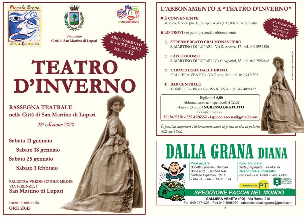 Teatro d'Inverno a San Martino di Lupari 1