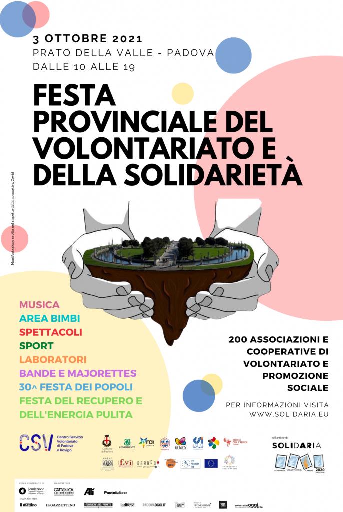 Festa provinciale del volontariato e della solidarietà di Padova 1
